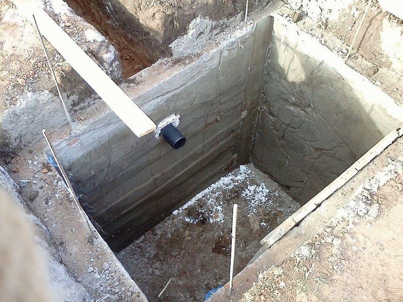 Устройство выгребной ямы своими руками на даче