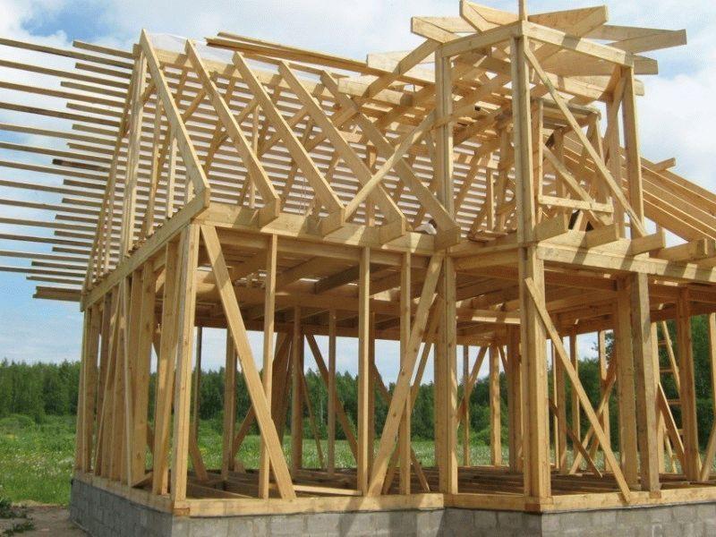 Деревянный щитовой дом своими руками